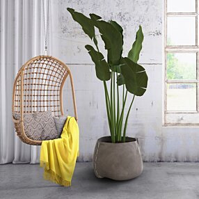 Outdoor Setting - Stitch 75 Planter by Blinde Design