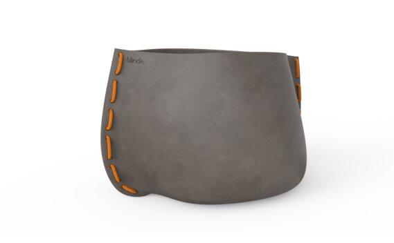 Stitch 125 Planter - Natural / Orange by Blinde Design