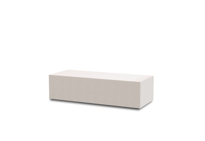 Bloc L1 Coffee Table - Ethanol / Bone by Blinde Design