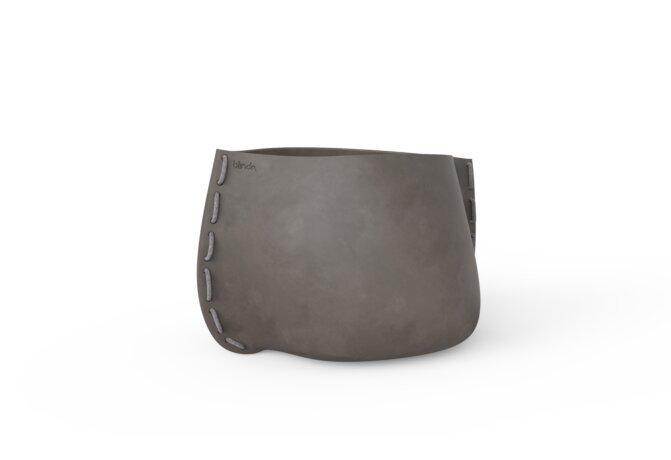 Stitch 75 Planter - Ethanol / Natural / Grey by Blinde Design