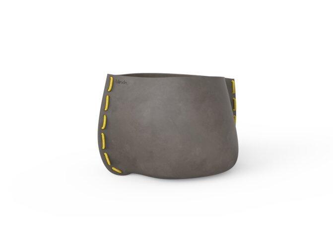 Stitch 75 Planter - Ethanol / Natural / Yellow by Blinde Design