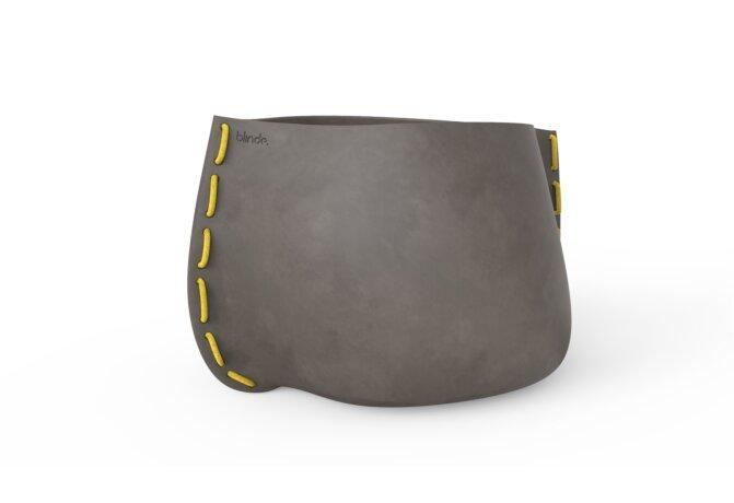 Stitch 125 Planter - Ethanol / Natural / Yellow by Blinde Design