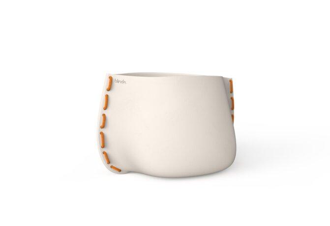 Stitch 75 Planter - Ethanol / Bone / Orange by Blinde Design