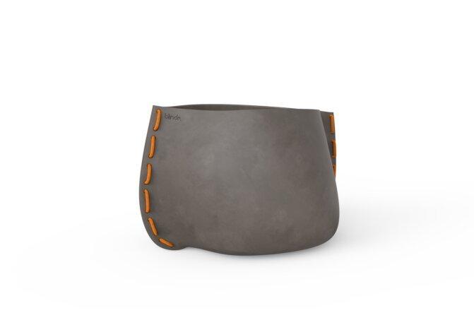 Stitch 75 Planter - Ethanol / Natural / Orange by Blinde Design
