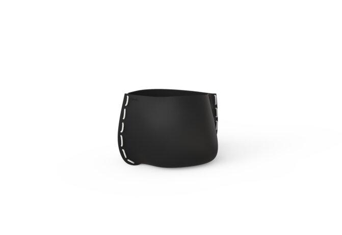 Stitch 25 Planter - Graphite / White by Blinde Design