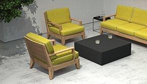 Bloc L4 Coffee Table - In-Situ Image by Blinde Design