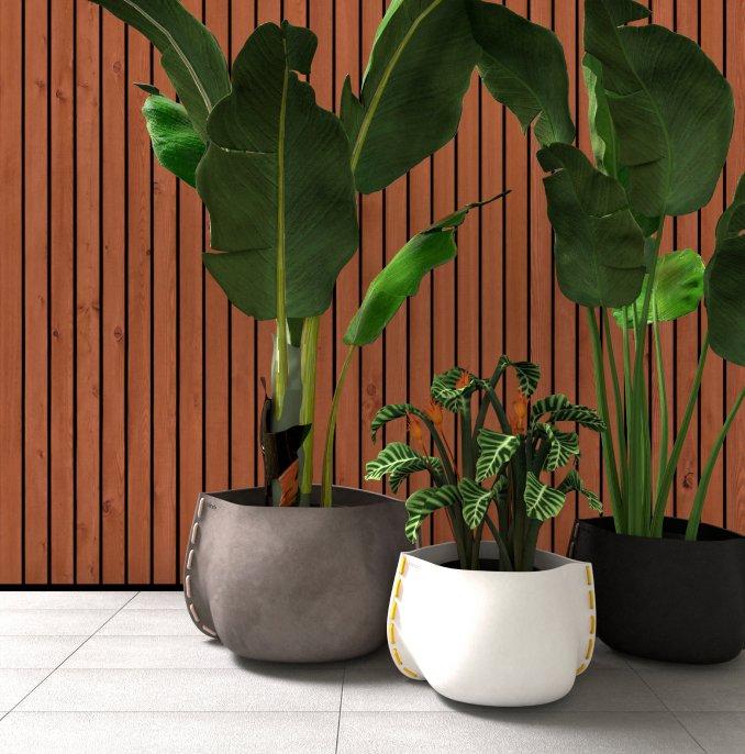 Plant Pots by Blinde